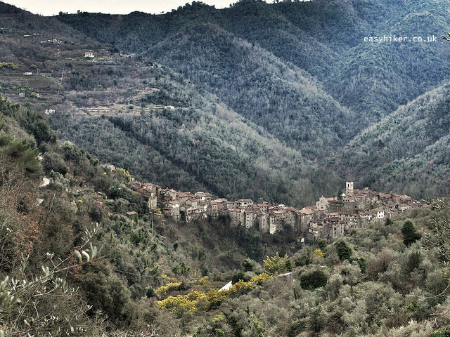 """""""Village of Apricale in the valleys of the Ligurian Hills"""""""
