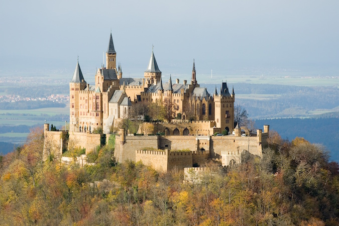 """When hiking the Black Forest Westweg, take the chance to visit the Hohenzollern Castle"""