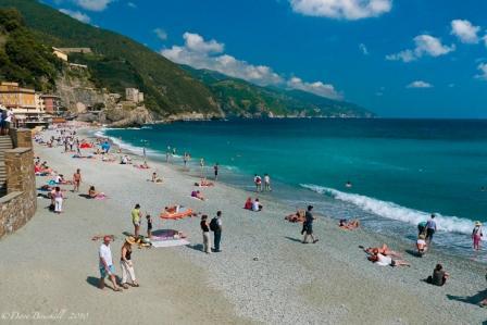 """Cinque Terre Beach"""