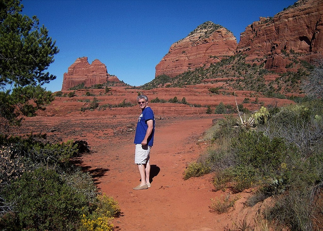 """Easy Hiker in the Cow Pie's trail in Sedona"""