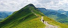 """Catbells Northern Ascent, Lake District easy hiking trails in the UK"""