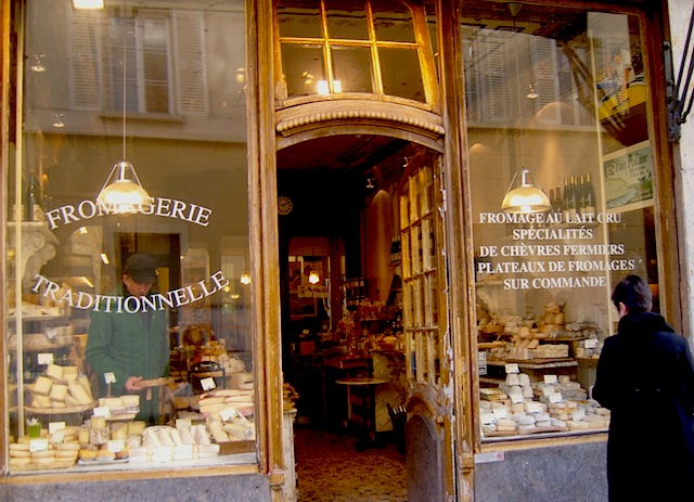 """Cheese shop in St Germain en Laye Paris"""