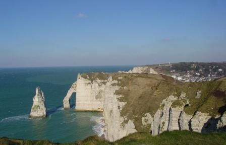"""Needle Etretat in Normandy"""