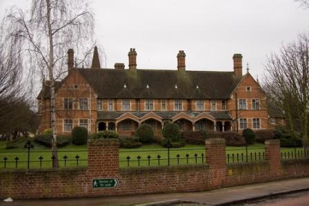 """Victorian Almshouse Faversham"""