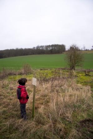 """easy hiking trail the Garden of England in Faversham Kent"""