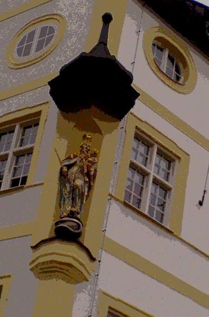 """""""Religious statue in Bavaria"""""""