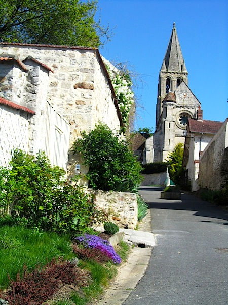 """""""St Peter and Paul church in Santeuil France"""""""