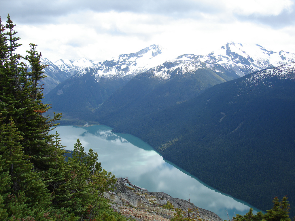 """""""Black Tusk by Cheakamus hiking trail in Vancouver"""""""