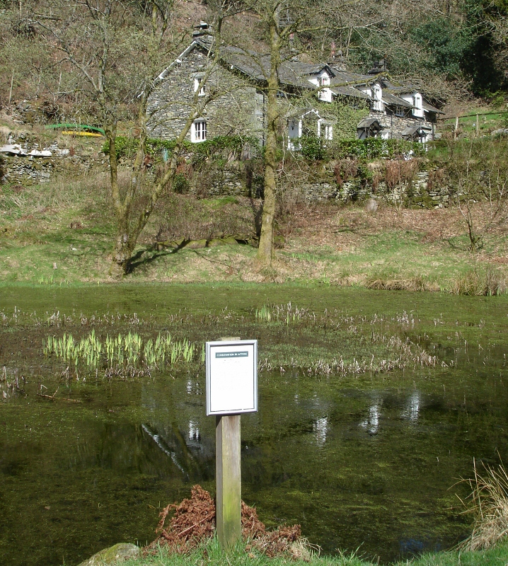 """The Coffin Route  hiking trail in Grasmere Lake District"""