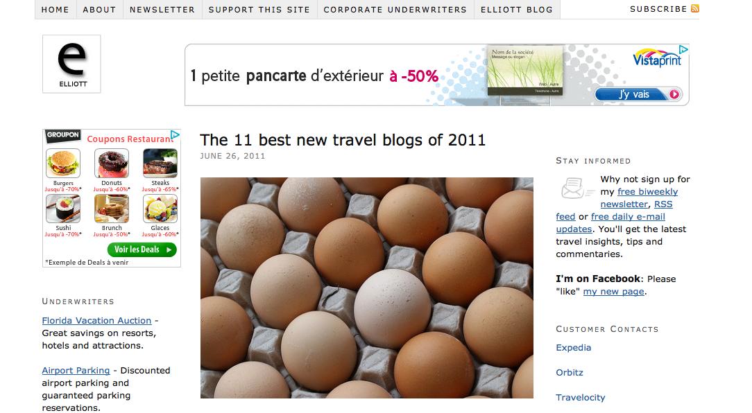 """""""photo- Elliot.org 11 best new travel blogs 2011"""""""
