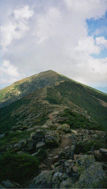 """Mt. Lafayette on the Franconia Ridge hike trip"""