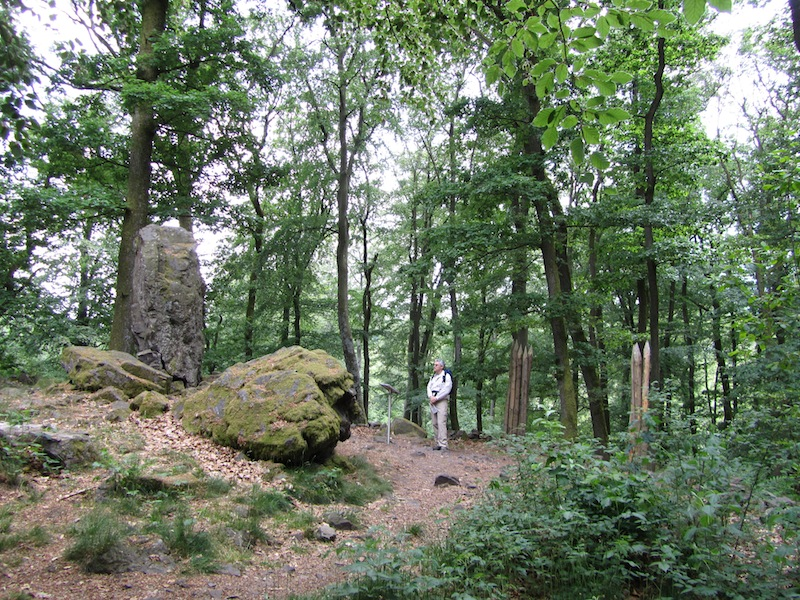 """Prehistoric cult site in the Saar-Hunsruecksteig the prettiest German hiking trail"""