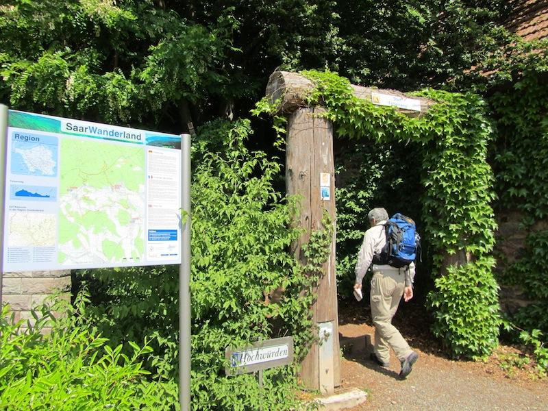 """""""Some things defining easy hiking - Losheim gateway to the Saar-Hunsruecksteig hiking trail"""""""