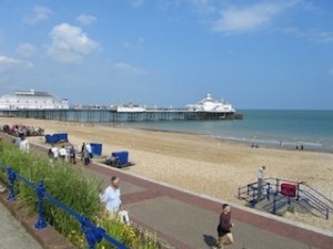 """""""Easy hiking in Eastbourne by Beachy Head near London"""""""