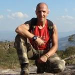 """Raf Mirantes hikig to the Pico da Tijuca in Rio de Janeiro"""