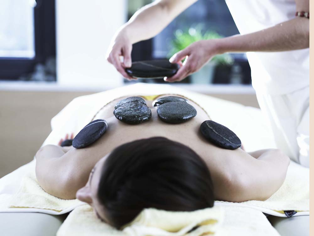"""beauty hot stone spa treatment in Aqua Dome"""