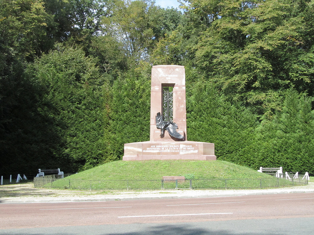 War Memorial in Compiegne near Paris