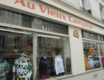 """Le Vieux Campeu""r shop for hiking guide books and gear in Paris"