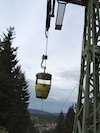 """Cable car in Brocken Germany"""