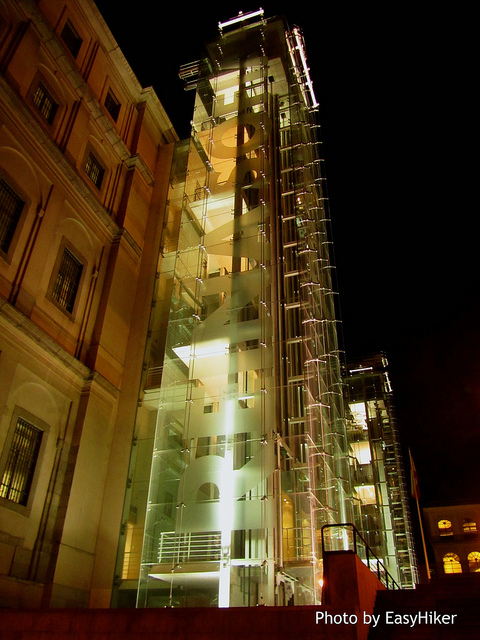 """Reina Sofia Museum seen by Midnight inMadrid"""