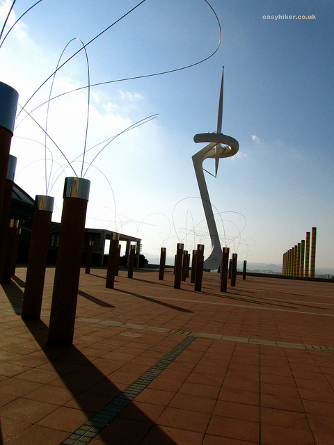 """The Needle at the Barcelona Olympic Park"""