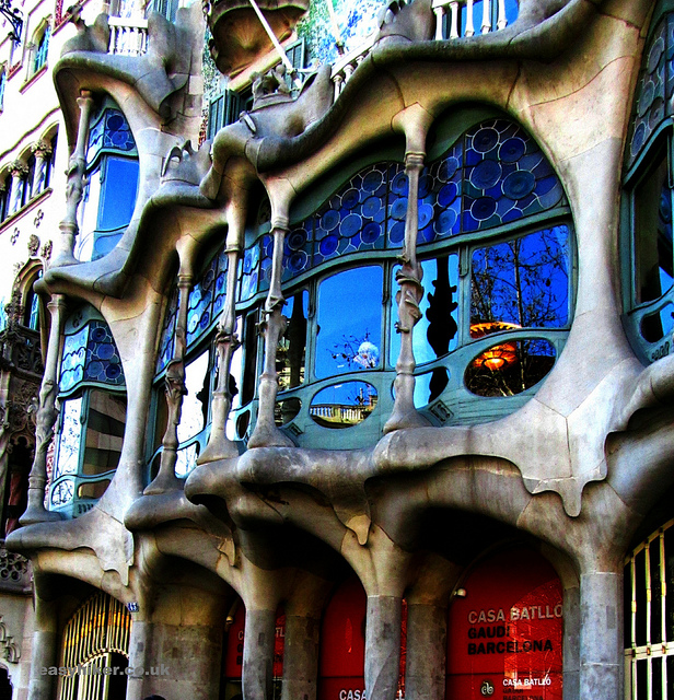 """Gaudi's Casa Batlló in Barcelona"""