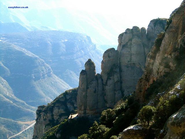 """""""Montserrat rocks near Barcelona"""""""