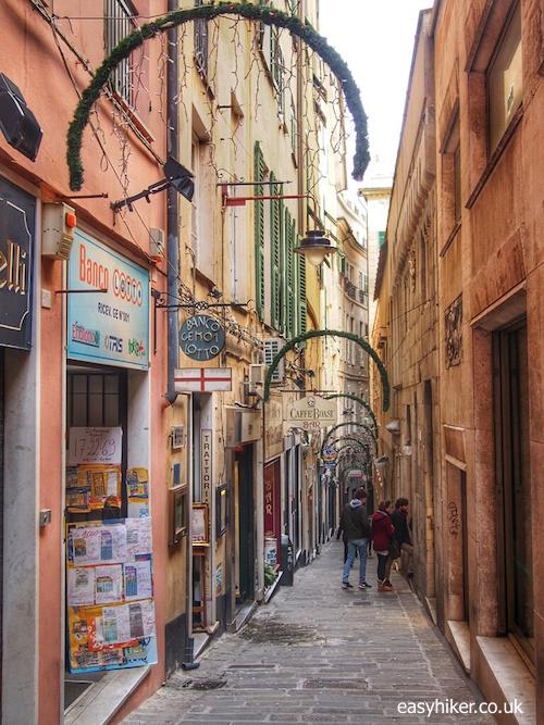 """""""shopping Alley in Genoa"""""""