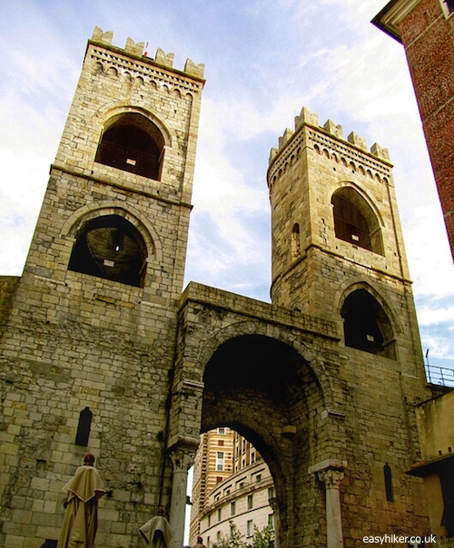 """""""Porta Soprana in Genoa"""""""