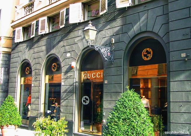 """""""Gucci boutique in Genoa"""""""