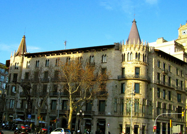 """""""A not very artistic building in Barcelona"""""""