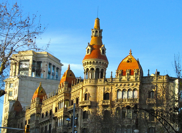 """""""An exotic building in Barcelona"""""""