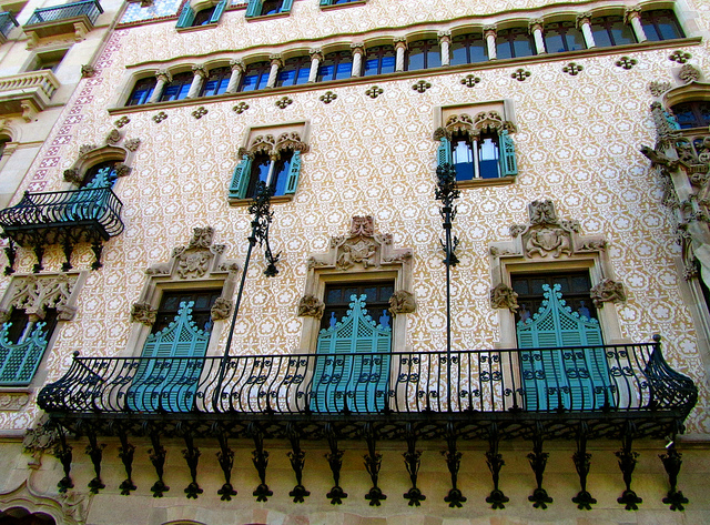 """""""A Wagnerian excess expressed in architecture in Barcelona"""""""