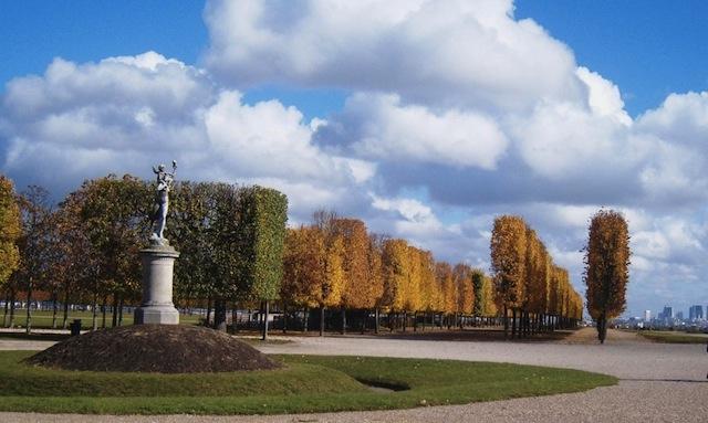 """""""Coiffeured garden of St Germain en Laye in Paris"""""""