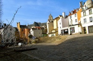 """The town of Pontoise in France"""