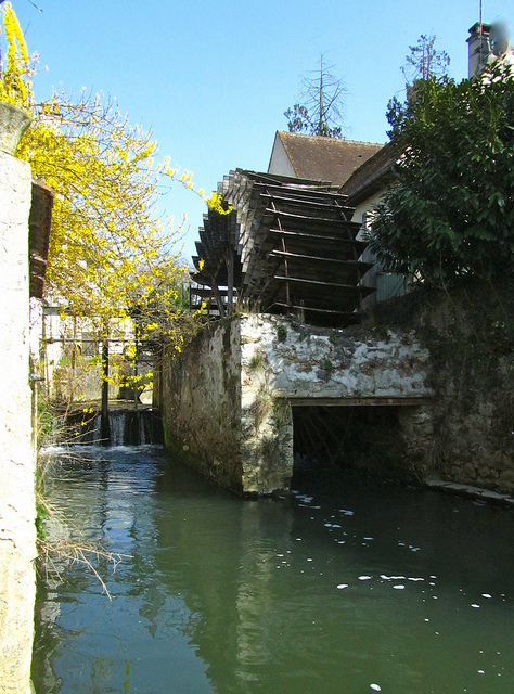 """An old water mill in Crecy la Chapelle"""