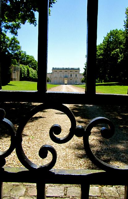 """Castle in Ecarchon near the Marais de Misery"""