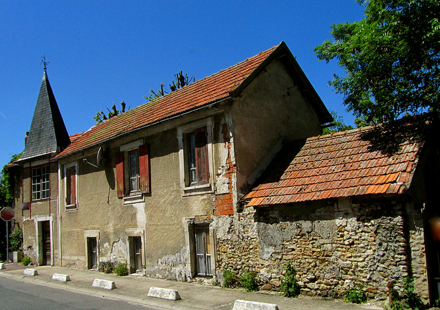 """""""An old house in Ecarchon in the Ile de France"""""""