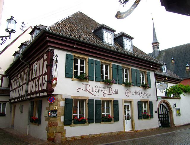 """In Deidesheim in the Palatinate"""