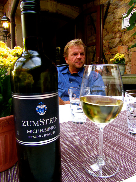 """Dirk Renzelmann has passion for all that is wine here"""