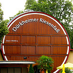 """The largest wine barrel in the world in Bad Dürkheim"""