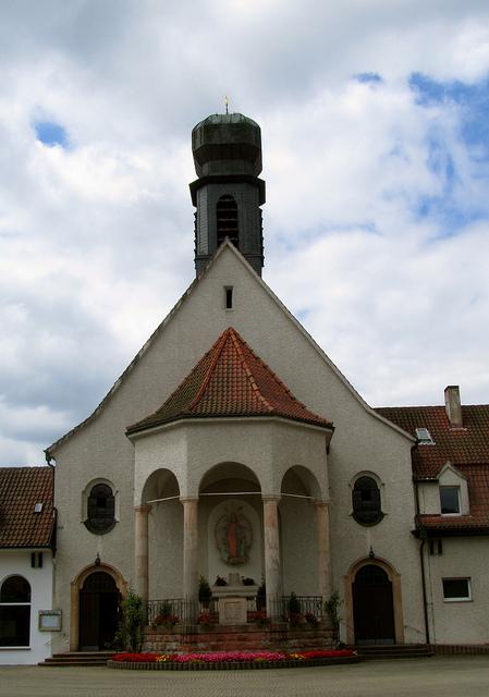 """Maria Rosenberg Chapel in Waldfischbach in Germany"""
