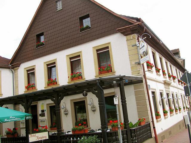 """""""Landgasthof (Hotel) Königsberg in Wolfstein in the Palatinate"""""""