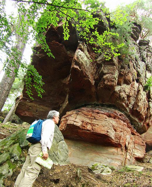 """The Seelenfelsenpfad or the Soul Rocks in Germany"""