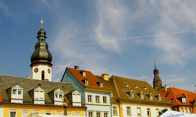 """architecture style of buildings in Speyer in Germany"""