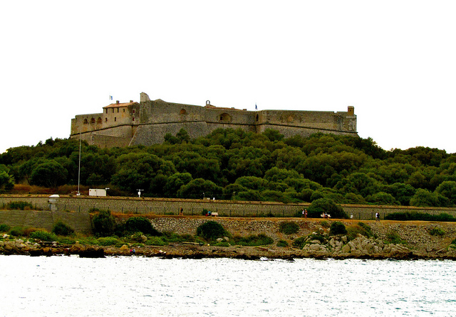 """Fort Carré in Antibes in the French Riviera"""