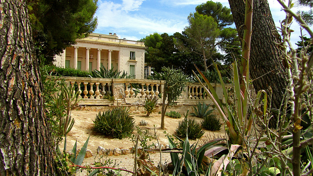 """A villa along the Tirepoil trail in the Cap d'Antibes"""