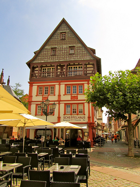 """Scheffelhaus in Neustadt Germany"""