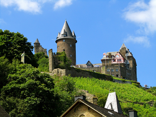 """Burg Stahleck in Bacharach Germany"""