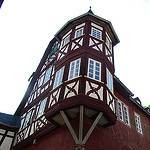 """an old building in Bacharach Germany"""